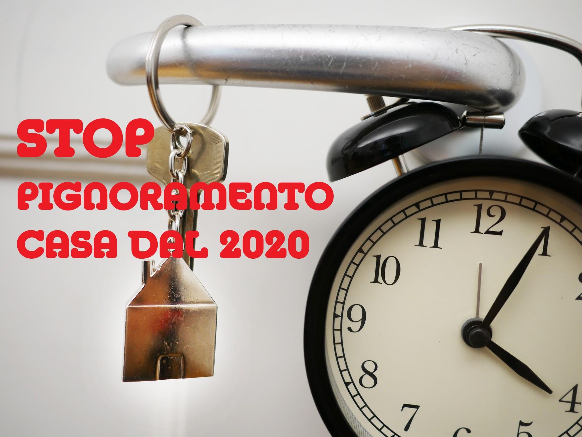 Decreto Legge 2020: Stop al Pignoramento sulla Prima Casa